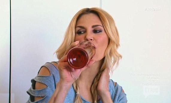 Brandi Drinking