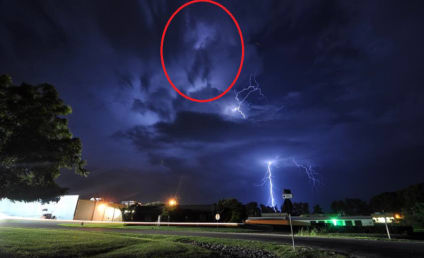 Do These Lightning Storm Clouds Look Like Michael Jackson?