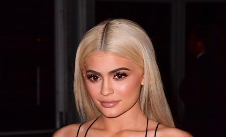 Kylie Jenner Sighted in New York In Silver