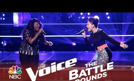 Toia Jones vs. DaNica Shirey (The Voice Battle Round)