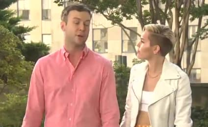 Miley Cyrus Pokes Fun at VMA Performance, Tongue in SNL Promos