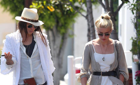 Amber Heard and Tasya Van Ree: It's Over!