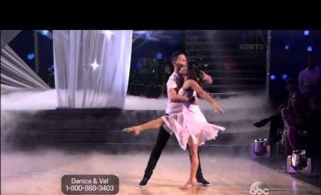 Danica McKellar & Val Chmerkovskiy - Contemporary - Week 3