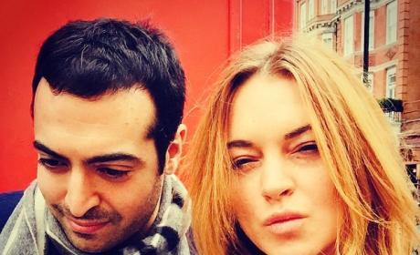 Lindsay Lohan with Mohammed Al Turki