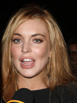 Lindsay Lohan's Teeth