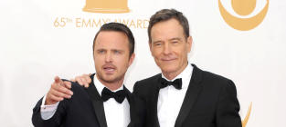 Aaron Paul and Bryan Cranston