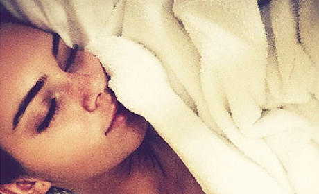 Kendall Jenner Tries to Sleep