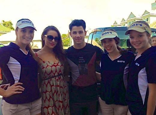 Nick Jonas at the U.S. Open