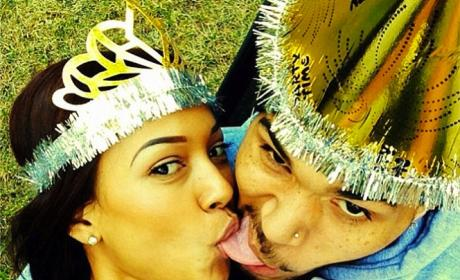 Karrueche Tran, Chris Brown Share Grossest Selfie of All Time