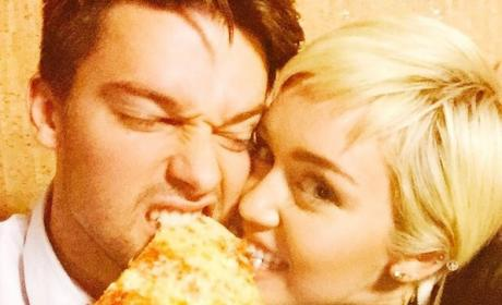 Patrick and Miley Photo
