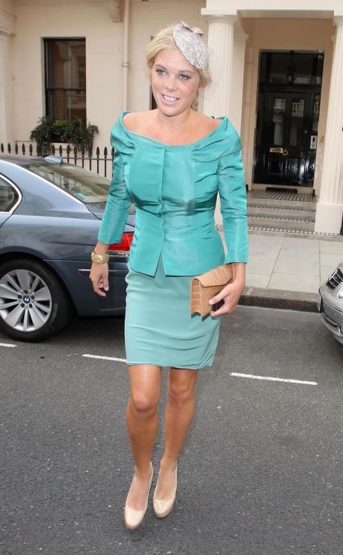 Chelsy davy at royal wedding