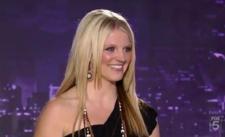 Britnee Kellogg on American Idol: Take This, Ex-Husband!