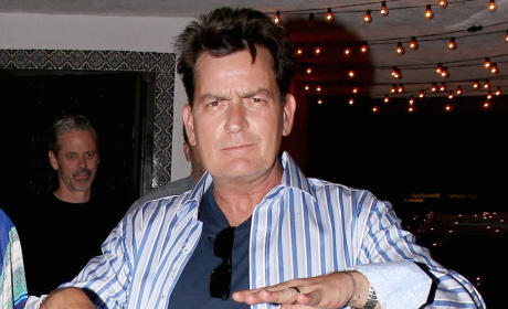 Charlie Sheen Quits Twitter With Bizarre Message to Fans