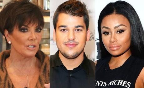 Kris Jenner: I Will SAVE Rob Kardashian From Blac Chyna!