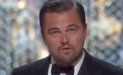 Leonardo DiCaprio Wins Best Actor, Talks Climate Change