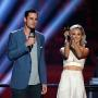 Ben Higgins and Lauren Bushnell on Stage