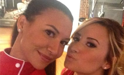 Demi Lovato and Naya Rivera: Pucker Up!