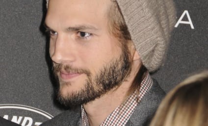 Ashton Kutcher and Demi Moore Embrace at Kabbalah Center