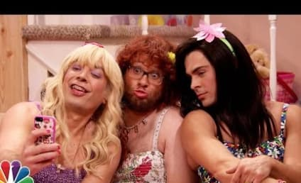 Zac Efron and Seth Rogen Dress in Drag on The Tonight Show