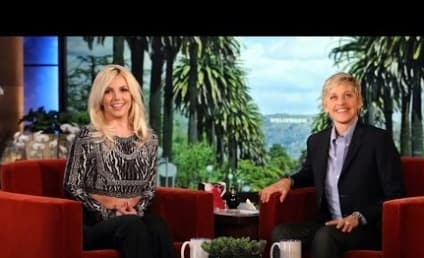 "Britney Spears, Clingy Girlfriend? Singer Talks ""Tiffy"" With David Lucado on Ellen"