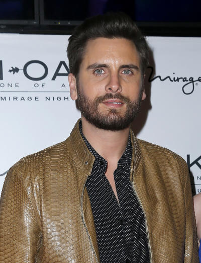 Scott Disick on the Red Carpet
