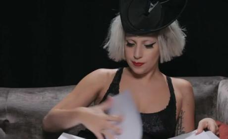 Lady Gaga Reveals, Reads From New Book