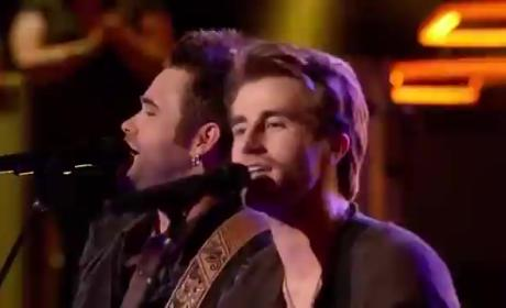 Christian Porter vs. The Swon Brothers - The Voice Battle Round