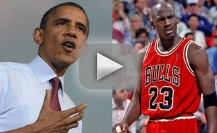 Barack Obama Disses Michael Jordan!