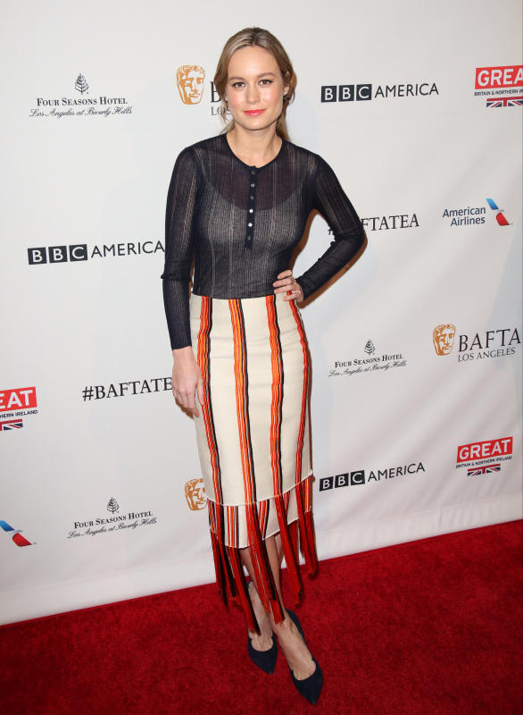 Brie Larson: 2016 BAFTA Los Angeles Awards Season Tea