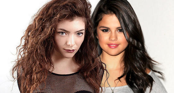 Selena gomez vs lorde