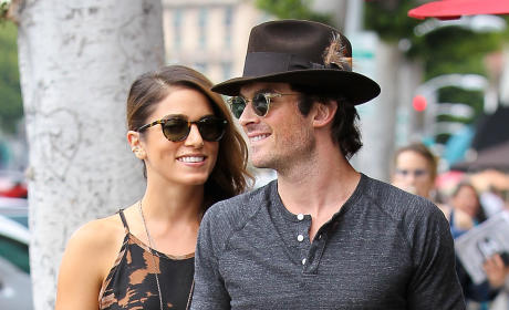 Ian Somerhalder: Engagement Ring Shopping for Nikki Reed?!?