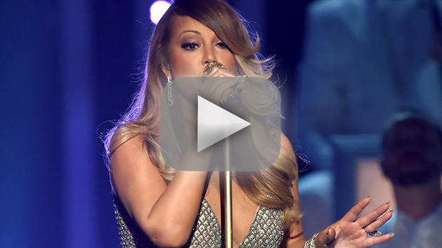 Mariah carey sings medley of hits