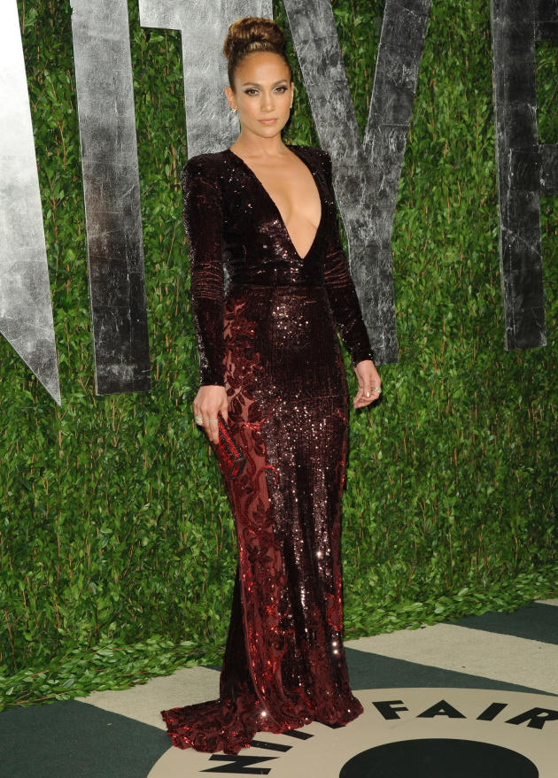 Jennifer Lopez Vanity Fair Dress