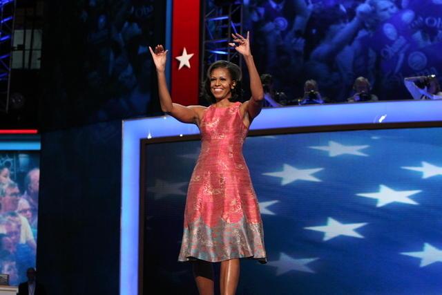 Stunning Michelle Obama