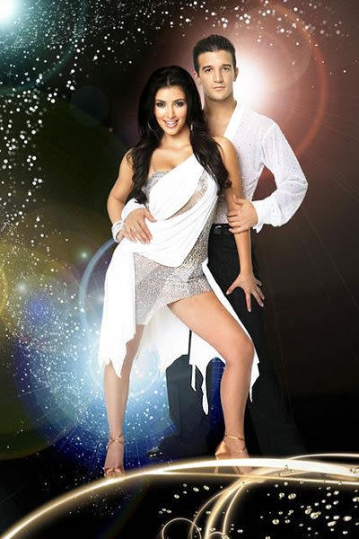 Kim Kardashian and Mark Ballas