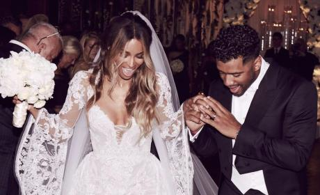 30 Magical Celebrity Wedding Dresses We Love