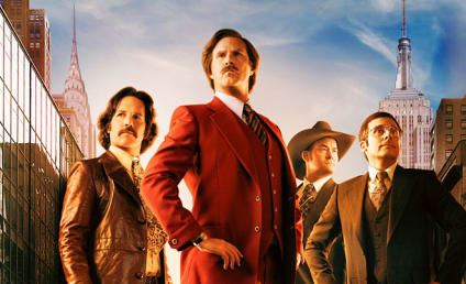 Anchorman 2 Poster: Biting the Big Apple