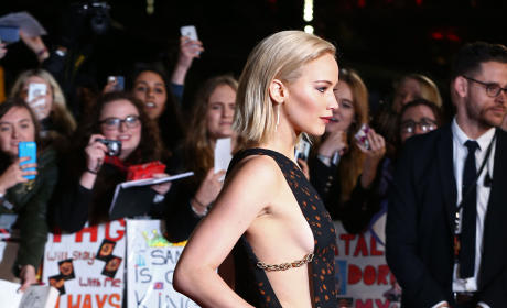Jennifer Lawrence at London Premiere