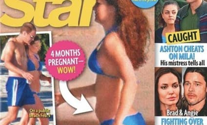Kate Middleton Baby Bump Photo: Bikini-Clad Beauty Covers US Tabloid