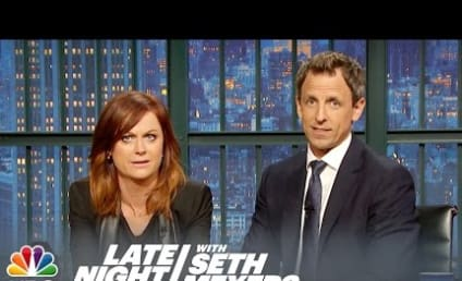 """Watch Amy Poehler and Seth Meyers Reunite for """"REALLY?!?"""""""