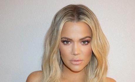 Khloe Kardashian Gets Serious