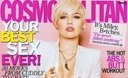 Miley Cyrus Cosmopolitan Pics: SEXY!