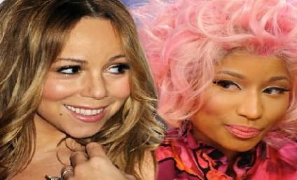Nicki Minaj Curses Off Mariah Carey: Caught on Tape!