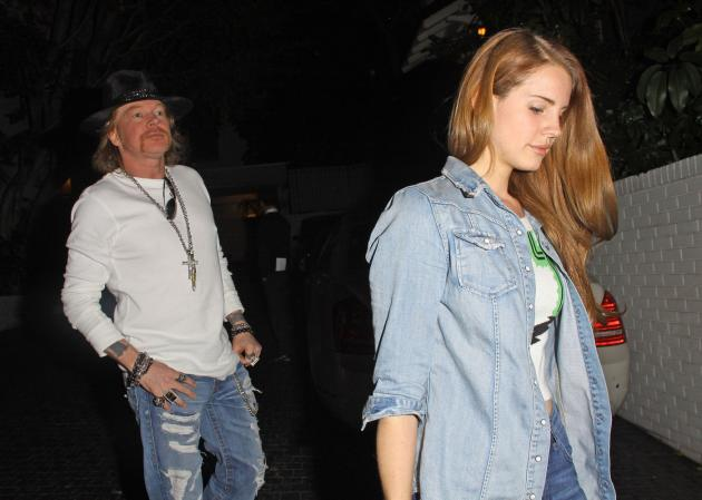 Lana Del Rey and Axl Rose