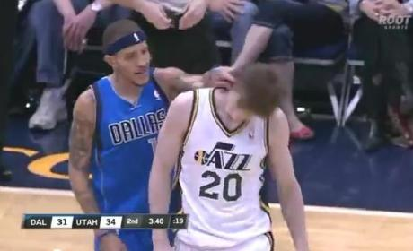 Delonte West Wet Willies Gordon Hayward [Video]