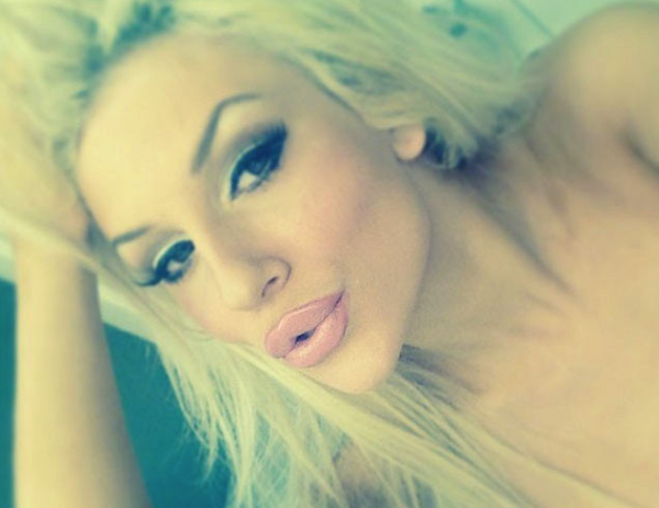 Courtney Stodden Lip Injection