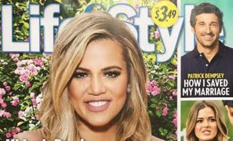 Khloe Kardashian on Life & Style cover