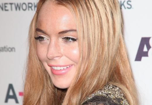 Lindsay Lohan's Face