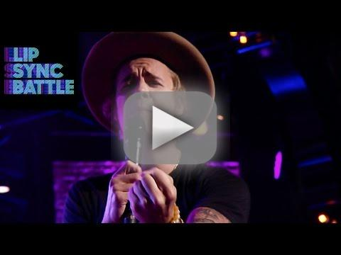 Justin bieber covers fergie gets romantic on mouth sync battle