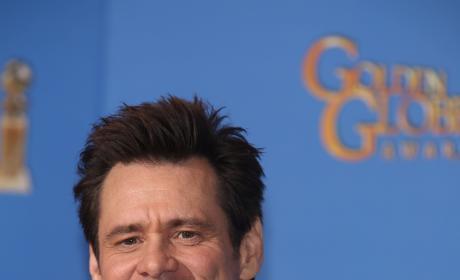 Jim Carrey at 2014 Golden Globes